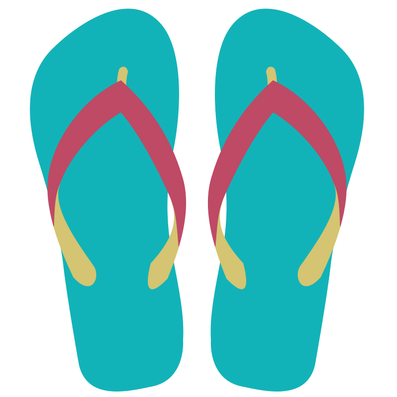 Sandal clipart #3