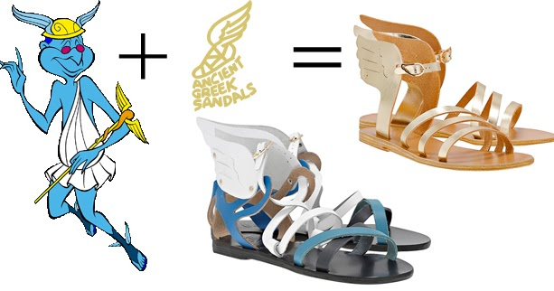 Sandal clipart ancient greek Things} Sandals Fashionista Ancient Closet