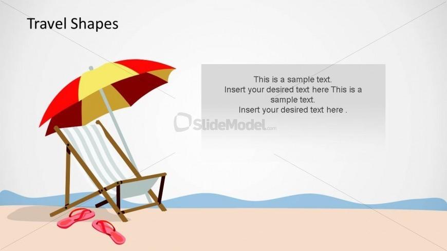 Sandal clipart beach theme #6