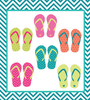 Sandal clipart border Sandal Free Free Sandal Summer
