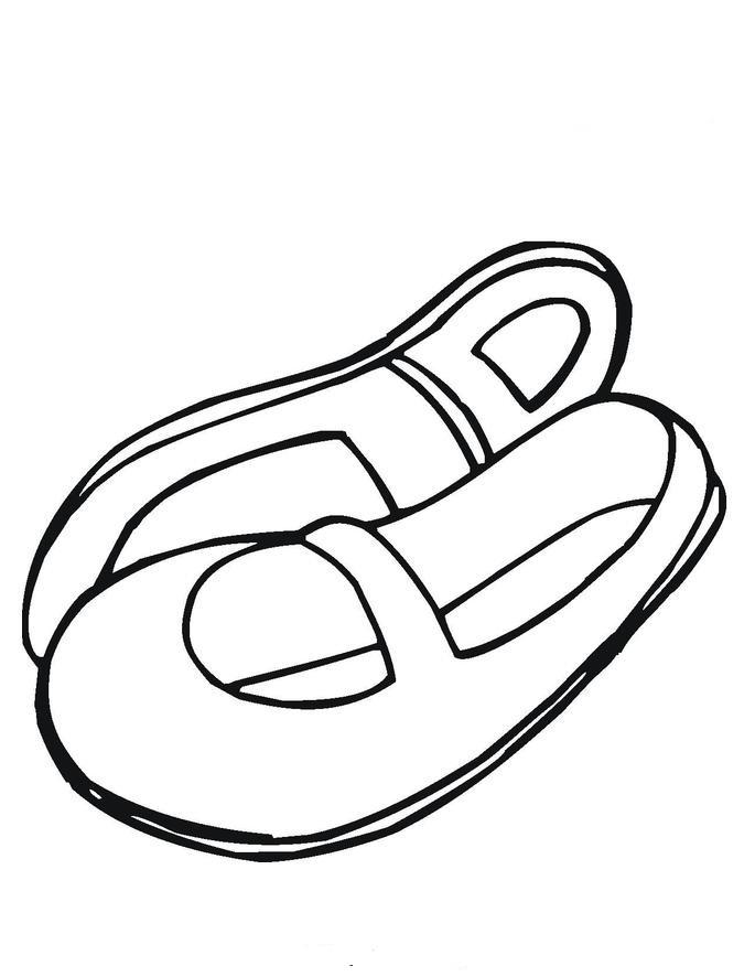 Sandal clipart cartoon #6