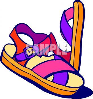 Sandal clipart cartoon #4