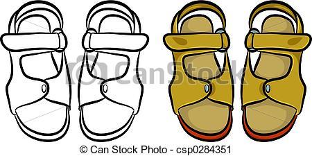 Sandal clipart cartoon #2
