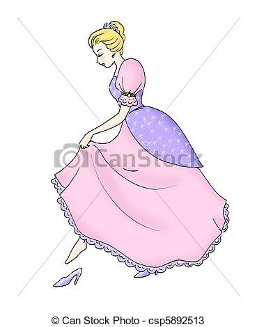 Sandal clipart cinderella #7
