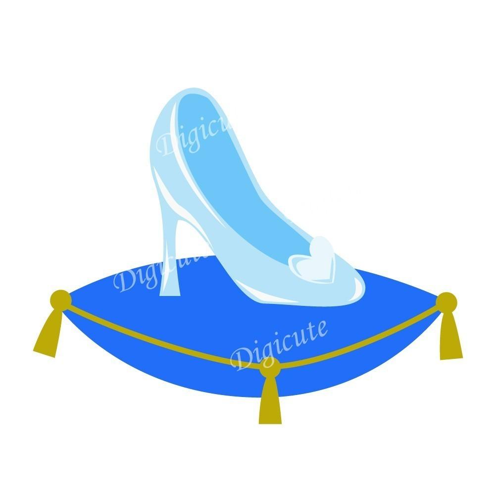 Sandal clipart cinderella #12