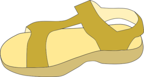 Sandal clipart for kid #4