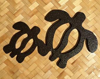 Sandal clipart hawaiian petroglyph Turtle Pohaku Style Hawaiian o