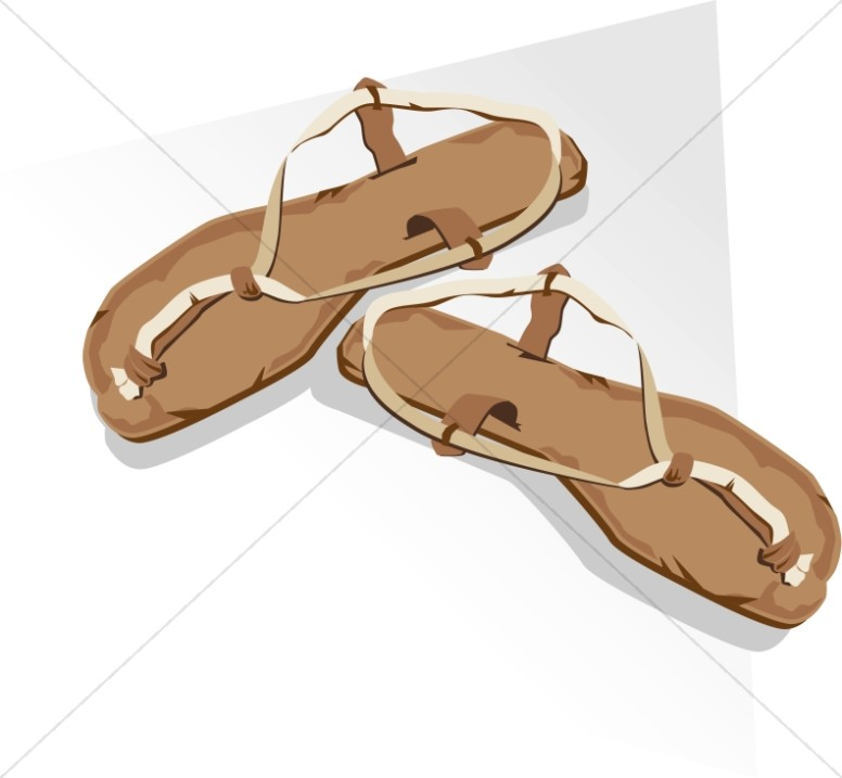 Sandal clipart jesus Clipart New Sandals Testament Testament