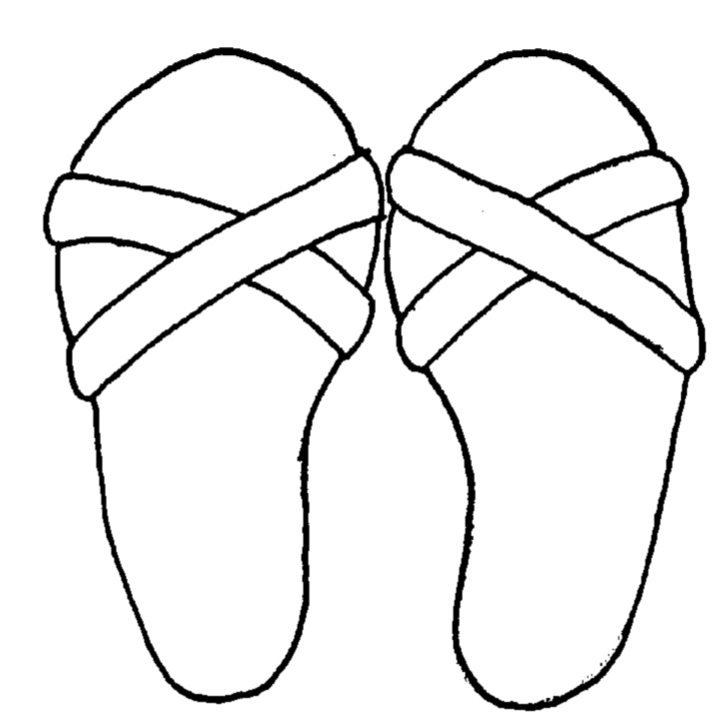 Sandal clipart jesus Sandals Horn Reformed Church America