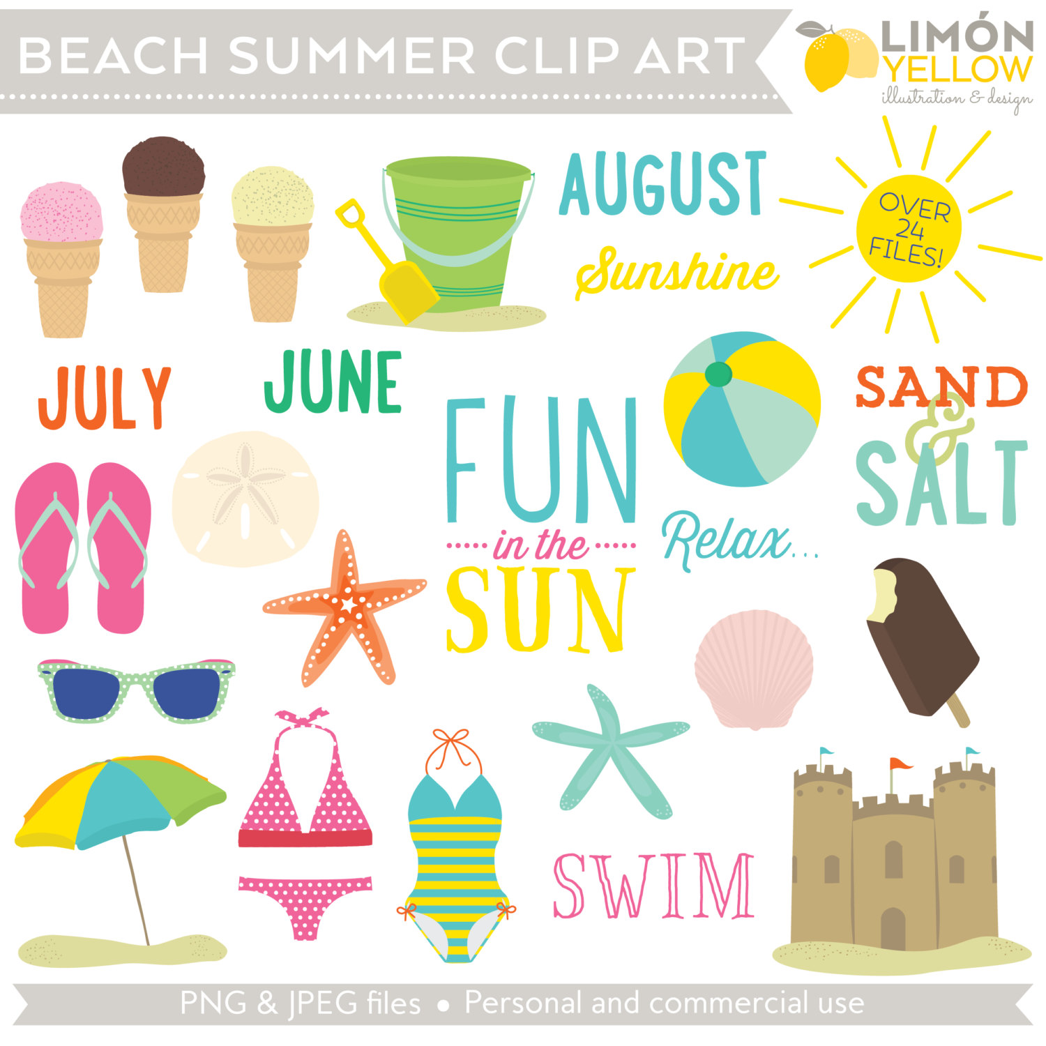 Sandal clipart july summer #5