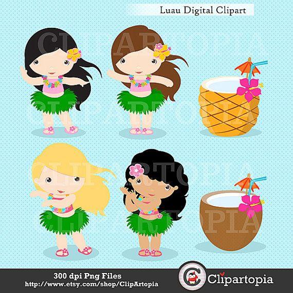 Sandal clipart luau  Clipart/ Commercial / images