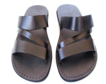 Sandal clipart men's Sandals Flops Men's Leather Men's