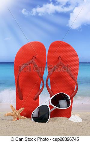 Sandal clipart red sunglass #8