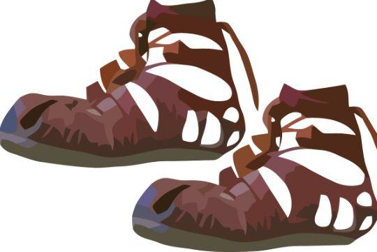 Sandal clipart roman Art (Sandal) Clothes Clip EmpireRome