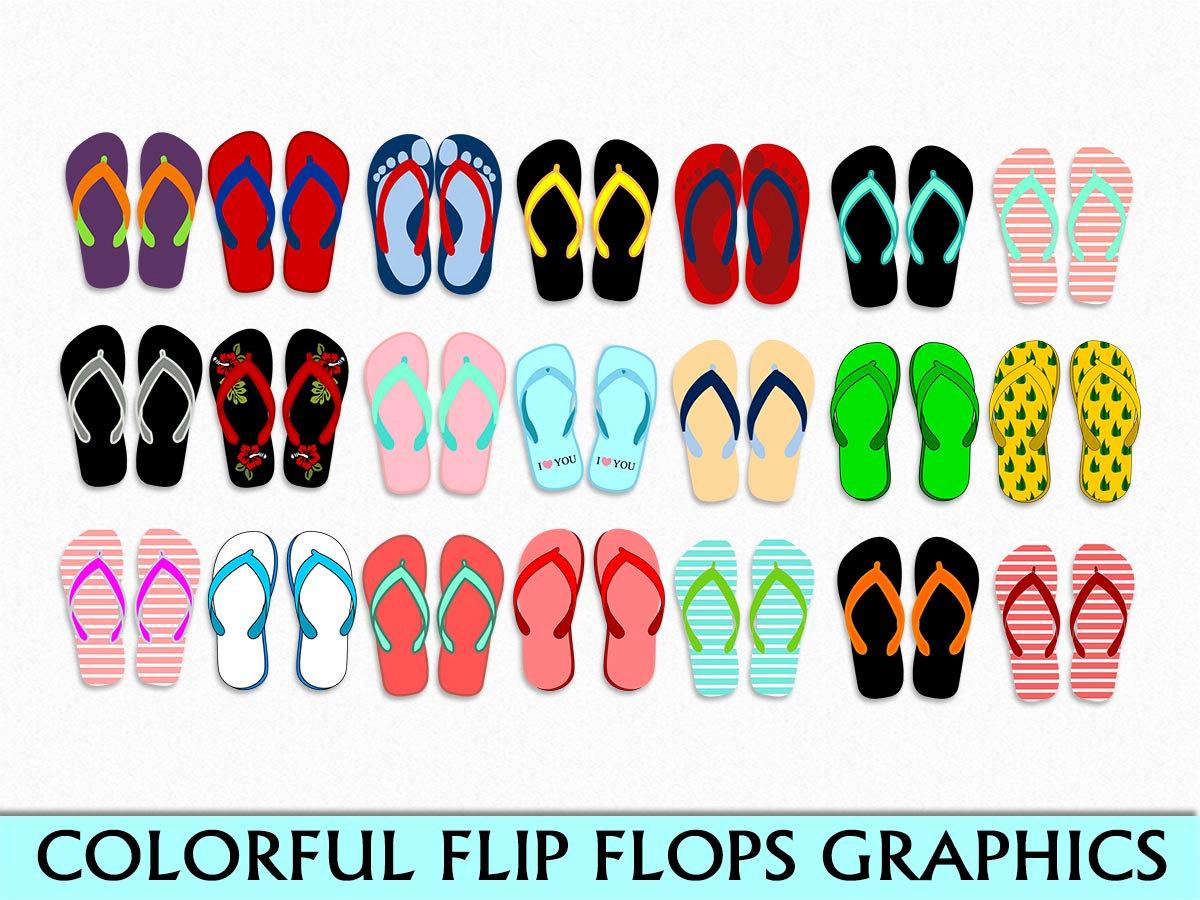Sandal clipart slipper Clip Download Sandals Beach Thongs