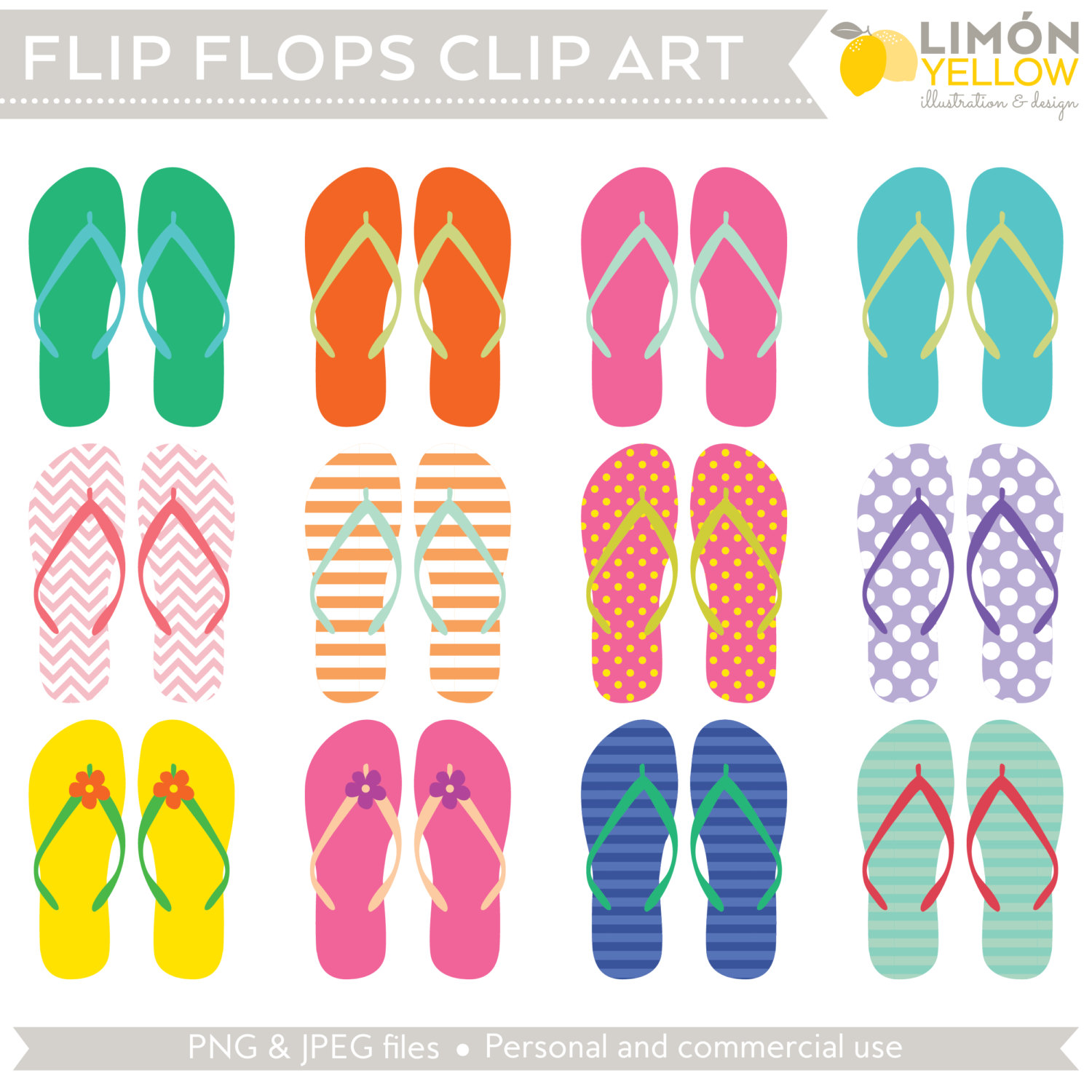 Sandal clipart summer thing Beach a file clipart (Royalty
