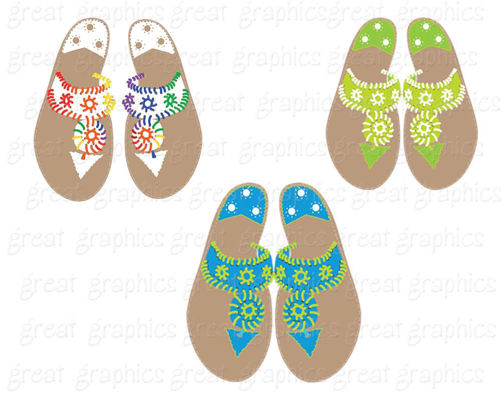 Sandal clipart summer thing Printable Summer Art Clip Clip