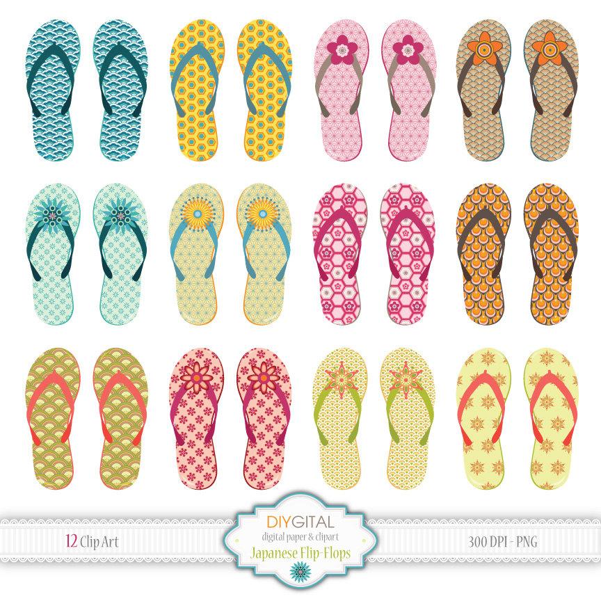 Sandal clipart summer vacation #3