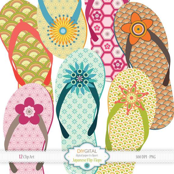 Sandal clipart summer vacation #6