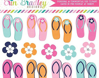 Sandal clipart summer vacation #7