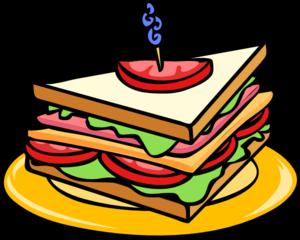 Sandwich clipart Clip Art vector Sandwich clip