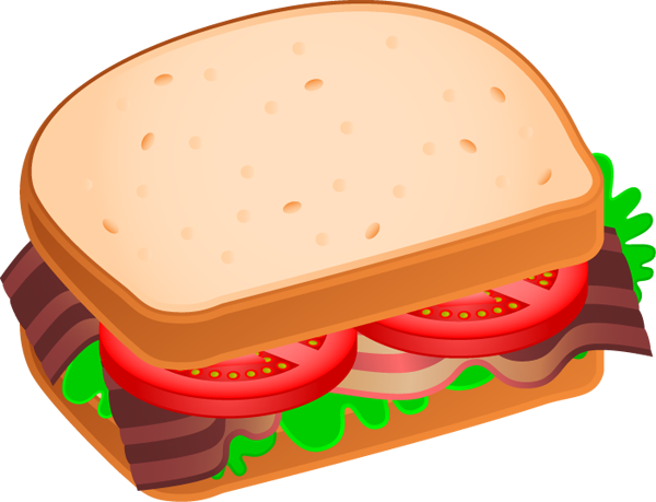 Sandwich clipart And White Clipart Art