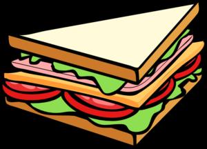 Sandwich clipart Panda Free Free Sandwich Clip