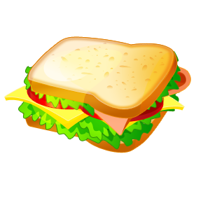 Turkey clipart turkey sandwich #7