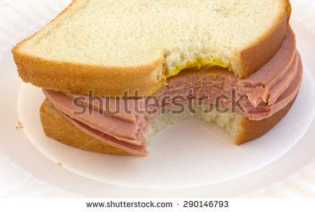 Sandwich clipart bitten Bologna clipart sandwich Bologna Sandwich