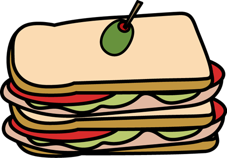 Club clipart sandwitch Sandwich Clip Sandwich Club Club