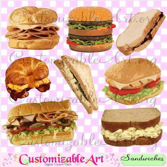 Sandwich clipart deli meat Chicken Cheeseburger best Art Burgers
