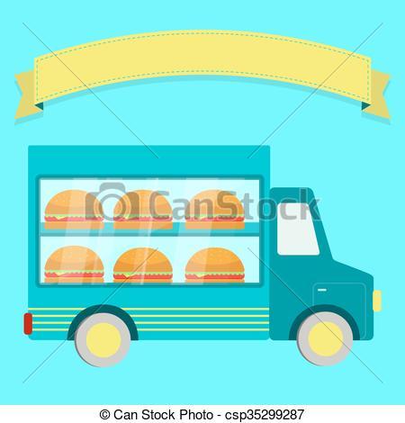 Sandwich clipart empty Free Truck Clip text illustration