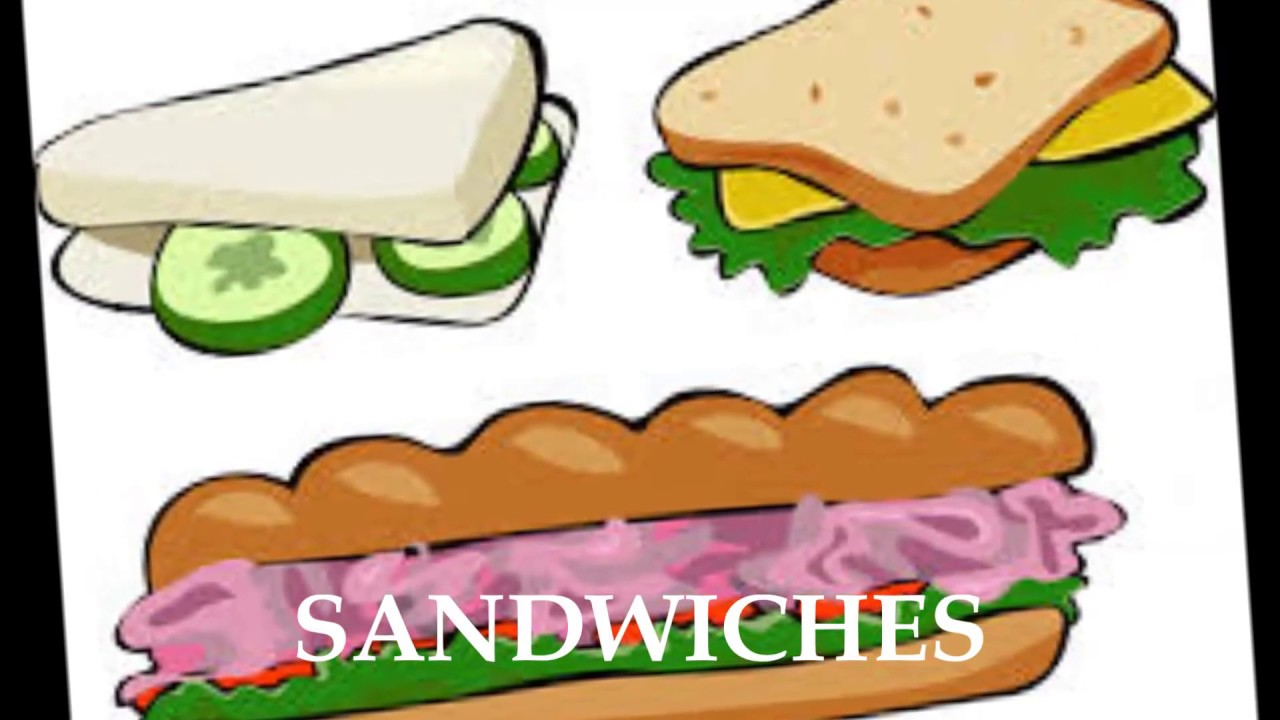 Sandwich clipart favorite food Favourite Food YouTube My favourite
