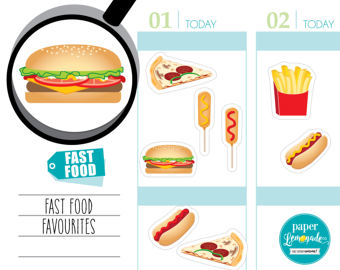 Sandwich clipart food fair Corndog planner sticker food Fast