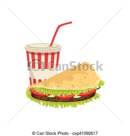 Sandwich clipart food item Item Item Taco Soft Food