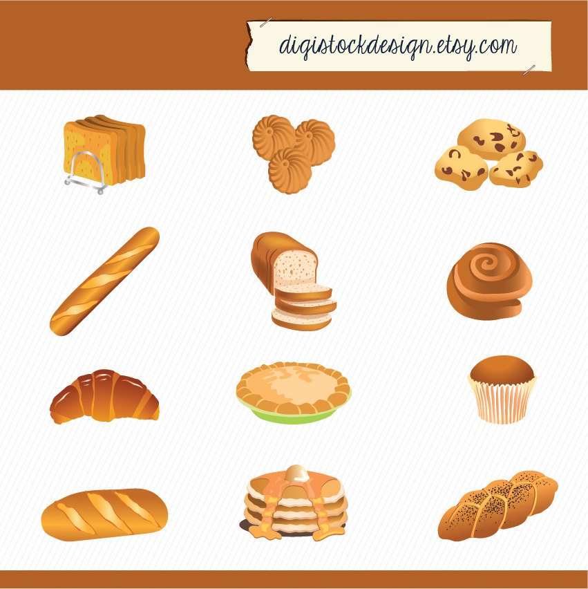Sandwich clipart food item Pies  Bread Food Clipart