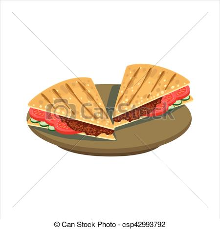 Sandwich clipart food item Bread Cuisine  Meat of
