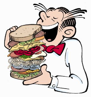 Sandwich clipart lot food Reference any Sandwiches: guide character