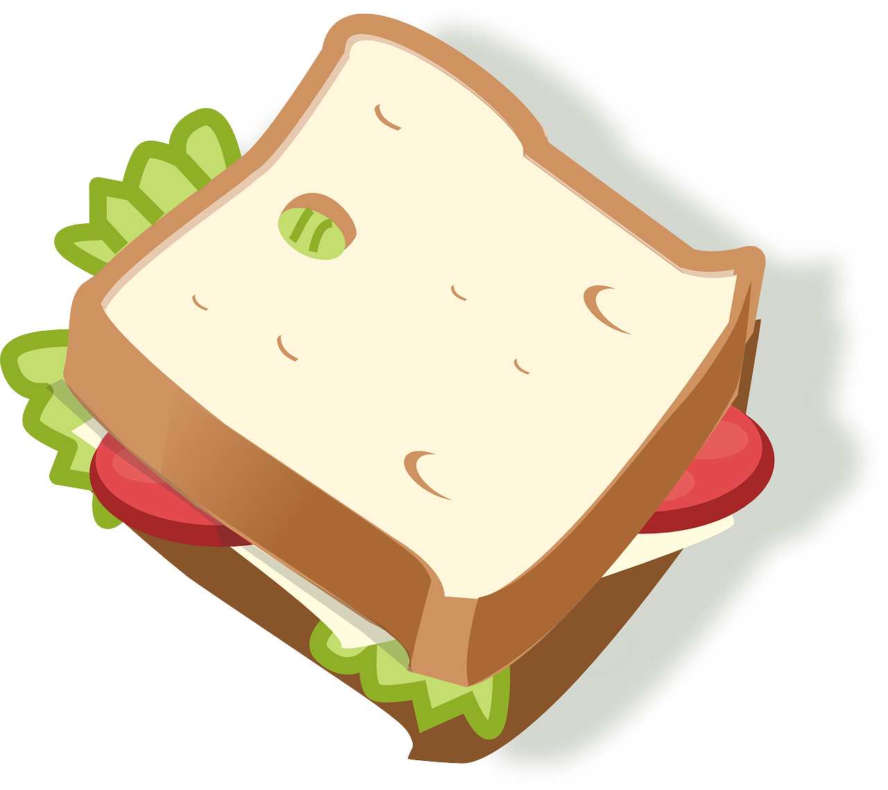 Sandwich clipart packed lunch School lunch team prefers my