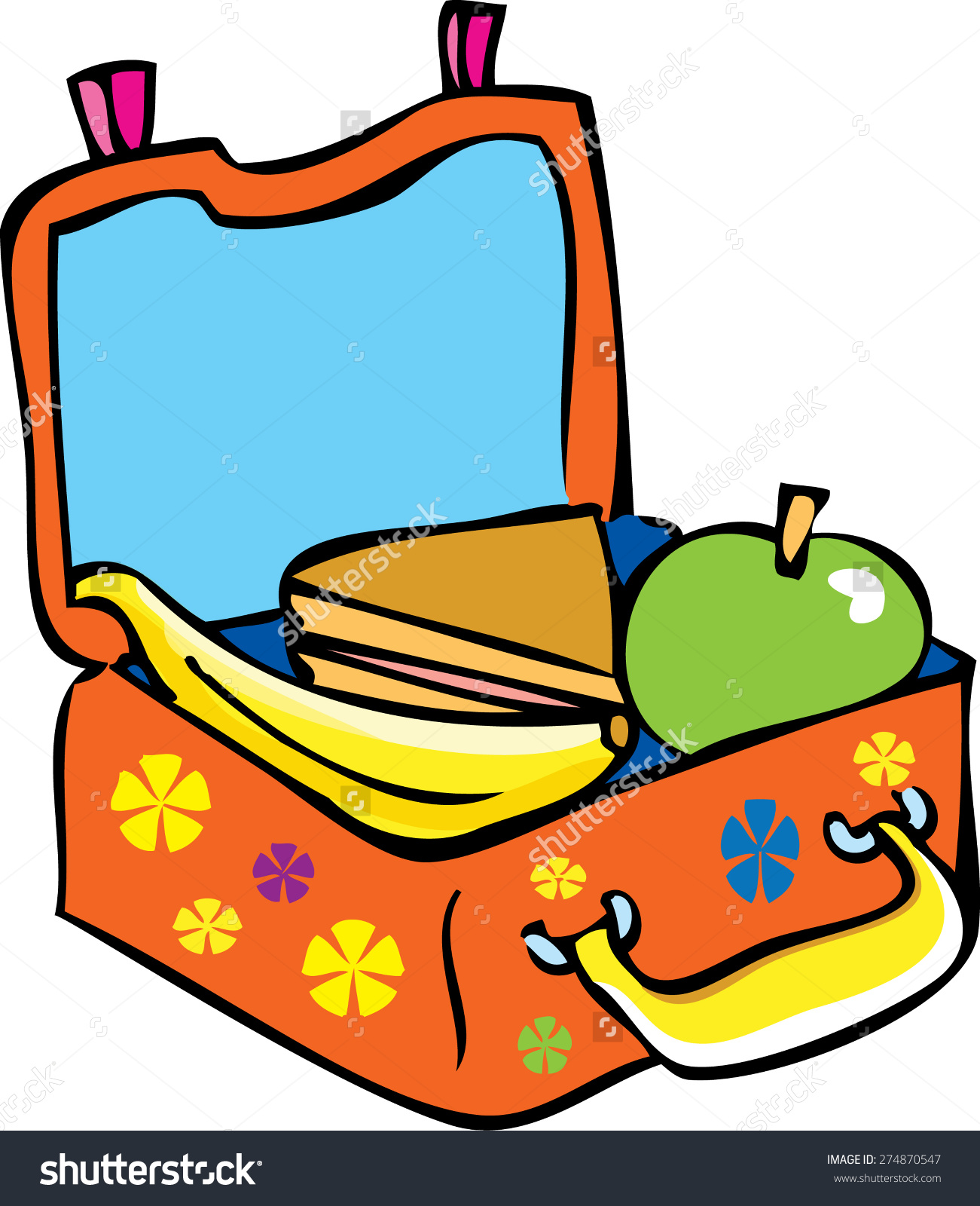 Sandwich clipart packed lunch Explore pictures cartoon bright sandwich
