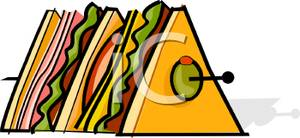 Club clipart sandwitch Tall Tall Sandwich A Sandwich