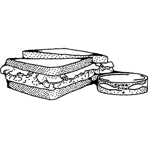 Sandwich clipart tuna sandwich Sandwich png clipart formats