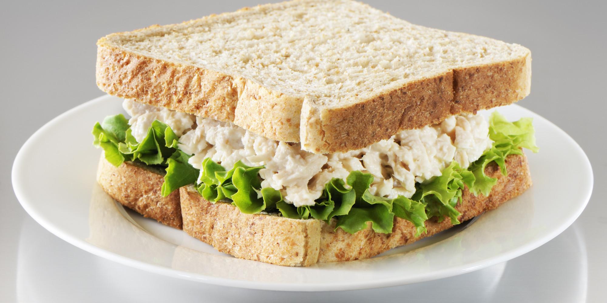 Sandwich clipart tuna sandwich Secret Ingredient HuffPost Has Salad