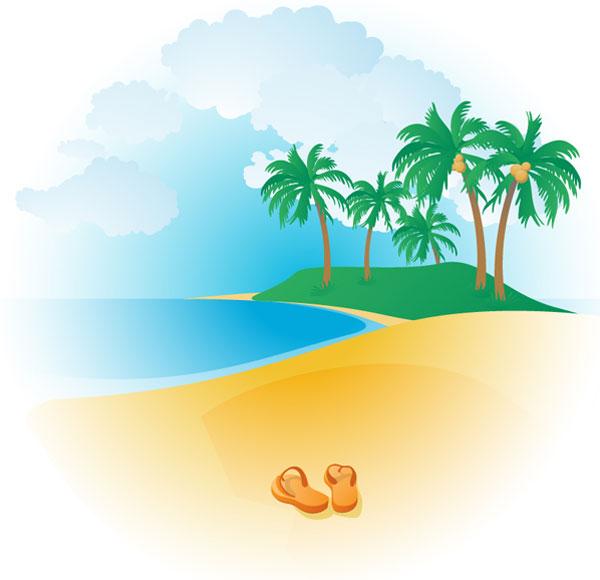 Beach clipart beach background Beach%20Clip%20Art Images Tropical Clipart Clipart