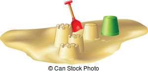 Sandy Beach clipart beach toy  pictures 2 a and