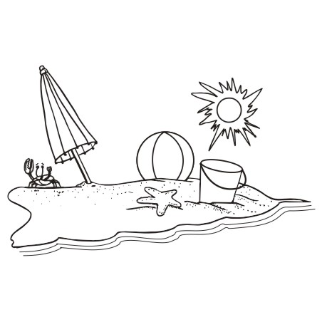 And Clipart Beach Images black