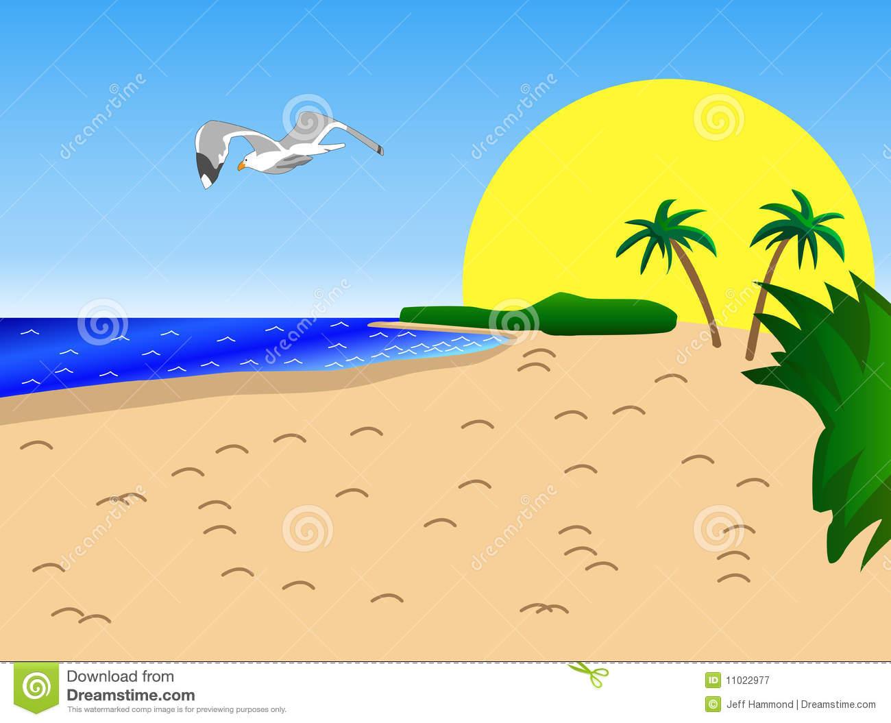 Palm Tree clipart caribbean food Tree sandy with beach trees