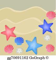 Sandy Beach clipart  dollars and beach starfish