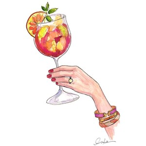 Sangria clipart  The Art the Free
