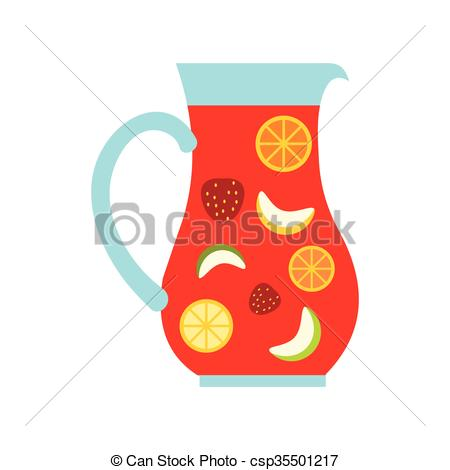 Sangria clipart  Art glass and Jar